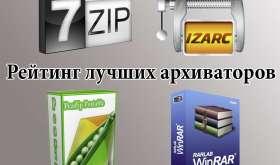 Программы для сжатия файлов